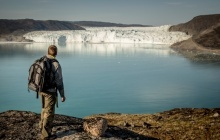 Hiking in the footsteps of polar explorers