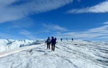 Hike to the icecap