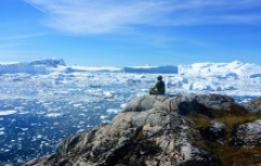 Hiking East Greenland with stunning iceberg views
